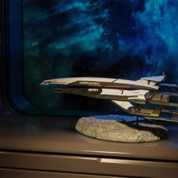 Mass Effect Normandy SR-1 Takes Off Once Again with Dark Horse Statue