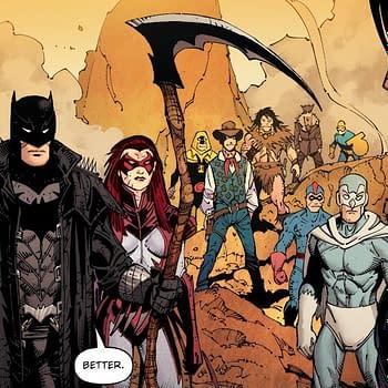 The Death Of Batman In Death Metal #5 Or #1 (Spoilers)
