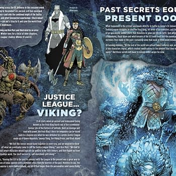 Endless Winter Preview and Checklist in This Weeks DC Comics