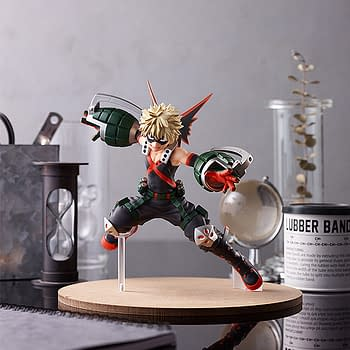 My Hero Academia Katsuki Bakugo Brings the Heat to Good Smile