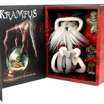 Krampus On The Mantle Is Back With Some Friends This Holiday