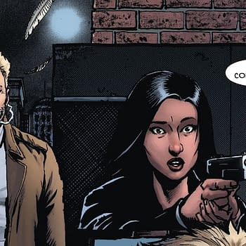 How Come All The Police Have Guns In Hellblazer: Rise And Fall