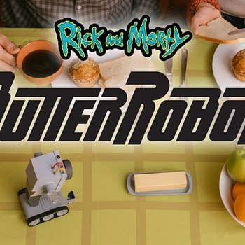 Rick and Morty Butter-Robot Comes to Life from Digital Dream Labs