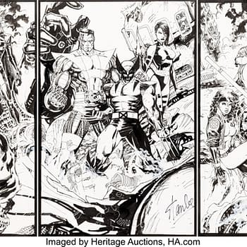 Unseen Jim Lee X-Men Art Created Over Ten Years Goes To Auction