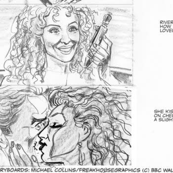 River Denied Her Kiss In Doctor Who: The Husbands Of River Song