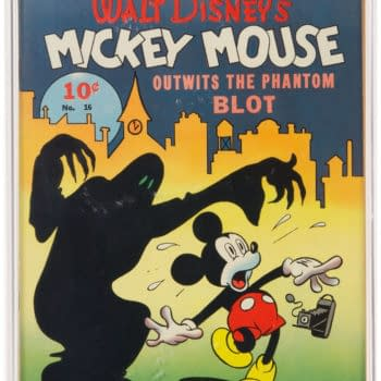The First Mickey Mouse Comic Appearance Is Up For Auction Right Now