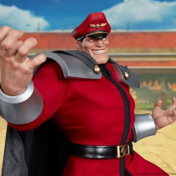 Street Fighter M. Bison Gets A $1,300 Statue from PCS Collectibles