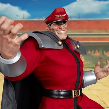 Street Fighter M. Bison Gets A $1200 Statue from PCS Collectibles