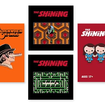 Mondo Introduces New Stanley Kubrick Shirts &#038 Pins Available Now
