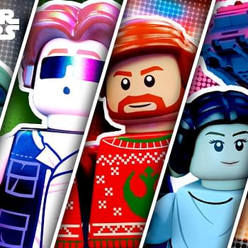LEGO Star Wars Holiday Special Previews The Child Kylo Leia &#038 More