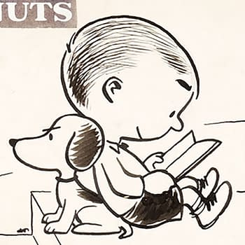 Early Snoopy Appearance in Peanuts Original Strip Hits Record $192000