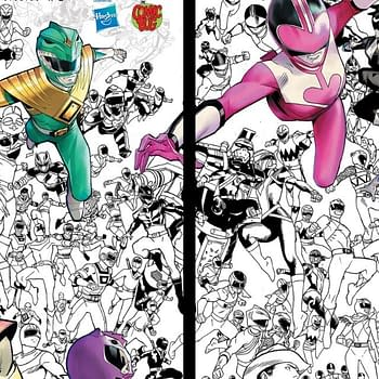 Power Rangers #1 Sells Out 88000 Print Run Goes To Second Printing