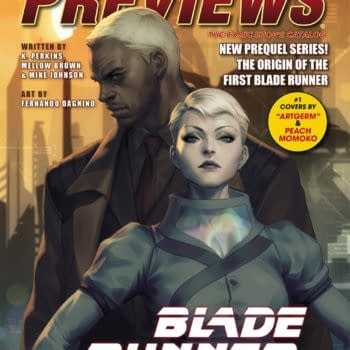 Blade Runner and Radiant Black on Next Week's Previews Catalog Covers