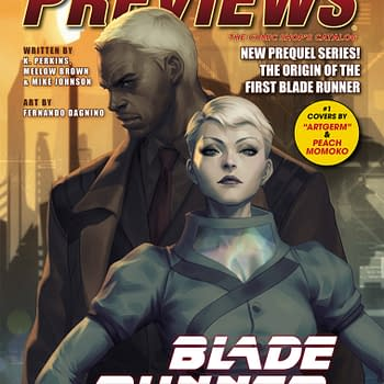 The Origin Of The First Blade Runner on Next Weeks Previews Cover