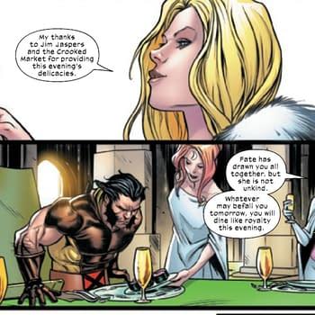 Mad Jim Jaspers Serves Up A Feast Fit For X-Men &#8211 Marauders #14