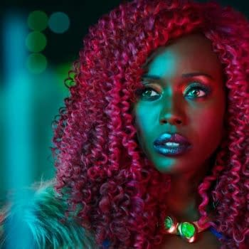Titans star Anna Diop posted a third piece to the Starfire puzzle (Image: HBO Max)
