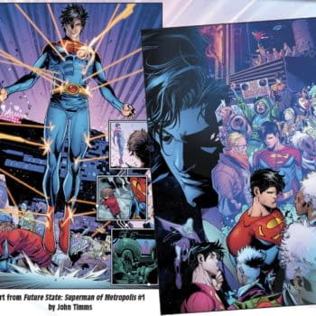 Superman And Family In The World Of Future State