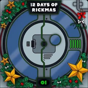 """Rick and Morty and Adult Swim are kicking off the """"12 Days of Rickmas"""" (Image: Adult Swim)"""