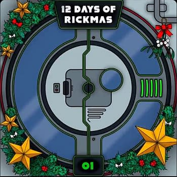Rick and Morty The 12 Days of Rickmas Goes The Queens Gambit