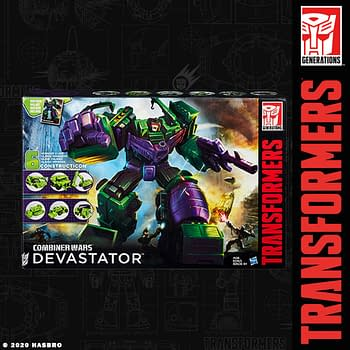 Transformers Mighty Devastator Gets Re-Release From Hasbro