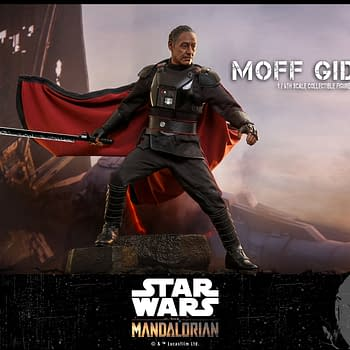 The Mandalorian Moff Gideon Gets His Own Star Wars Hot Toys Figure