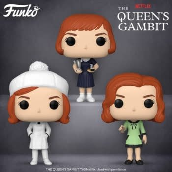 The Queen's Gambit Will be Getting Three Pop Vinyls from Funko