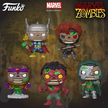 The Dead Rise Once Again With New Marvel Zombies Pops From Funko