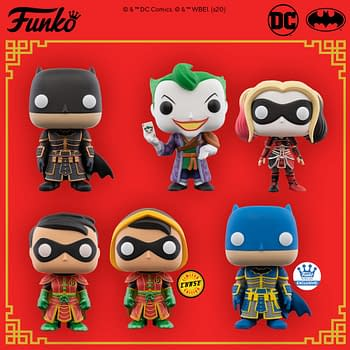 Funko Officially Announces Imperial Palace DC Comics Pop Vinyls