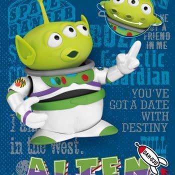 To Infinity and Beyond with Beast Kingdom Buzz Lightyear Alien Remix