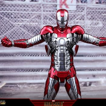 Hot Toys Starts 2021 With Reissue of Iron Man 2 Mark V Figure