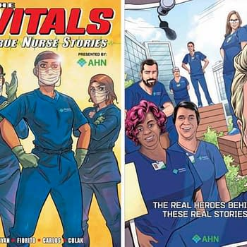 Marvel Publishes The Vitals: True Nurse Stories, Not To Comic Shops