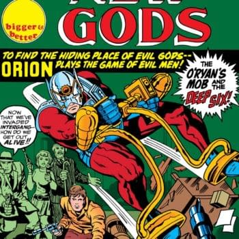 The cover to New Gods #4