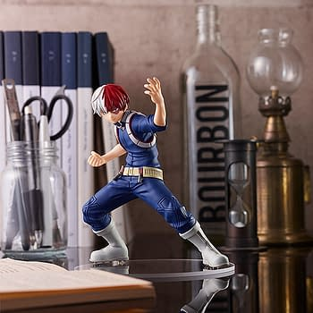 My Hero Academia Todoroki Cools Down With New Good Smile Statue