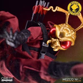 Mezco Toyz Drops Gomez Clan of the Crimson Dragon One:12 Figure