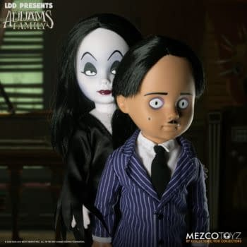 The Addams Family Becomes Living Dead Dolls with Mezco Toyz
