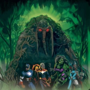 The cover to Avengers: Curse of the Man-Thing #1