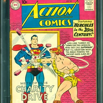 Classic Action Comics Story Up For Auction At ComicConnect