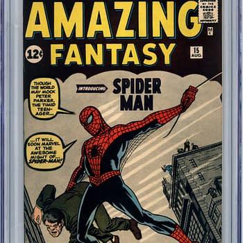 Restored Amazing Fantasy #15 CGC 9.8 Spider-Man Up For Auction