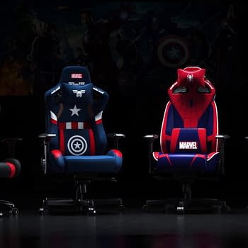 Andaseat &#038 Disney Partner For Marvel Gaming Chairs