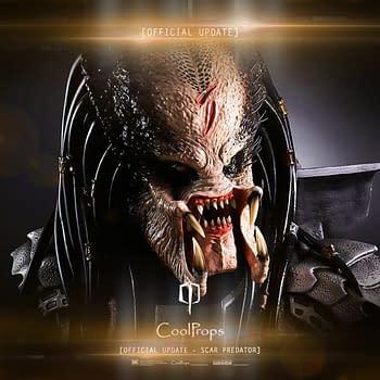 CoolProps Unveils New Updated Alien vs. Predator Scar Predator Bust