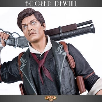 Bioshock: Infinite Booker DeWitt Statue Gaming Heads Statue Revealed