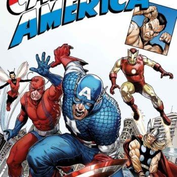 John Cassaday, Pepe Larraz, Peach Momoko Recreate Captain America