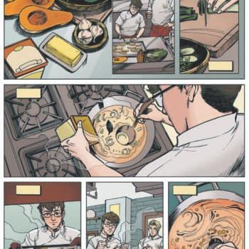 Chef's Kiss, Debut Graphic Novel by Jarrett Melendez and Danica Brine