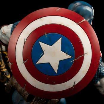 Captain America Is Worthy as He Wields Mjolnir With Xm Studios