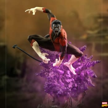 Nightcrawler Teleports to Assist the X-Men With Iron Studios