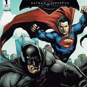 Obscure Comics: General Mills Presents Batman V Superman #1 &#038 Cereal