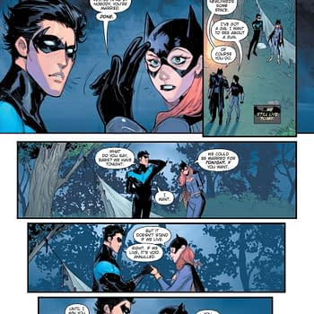 Barbara Gordon and Dick Grayson In DC Future State &#8211 And Beyond