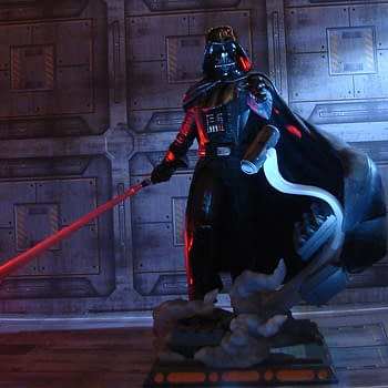 Darth Vader Gets ShopDisney Exclusive Diamond Select Statue