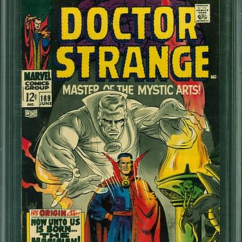 Doctor Strange Origin Issue Up For Auction At ComicConnect