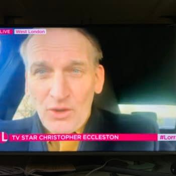 """Christopher Eccleston TV Doctor Who Return """"When Hell Freezes Over"""""""